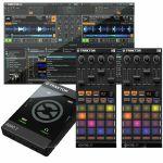 Native Instruments Traktor Audio 2 MK2 Audio Interface With Traktor LE 2 DJ Software + Pair Of Traktor Kontrol F1 DJ Remix Controllers (SPECIAL LOW PRICE BUNDLE)