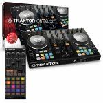 Native Instruments Traktor Kontrol S2 Mk2 DJ Controller With Traktor Pro 2 DJ Software + Traktor Kontrol F1 DJ Remix Controller (SPECIAL LOW PRICE BUNDLE)