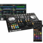 Native Instruments Traktor Kontrol S4 Mk2 DJ Controller With Traktor Pro 2 DJ Software + Traktor Kontrol F1 DJ Remix Controller (SPECIAL LOW PRICE BUNDLE)