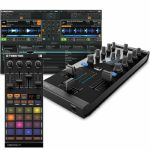Native Instruments Traktor Kontrol Z1 DJ Mixing Interface + Traktor Kontrol F1 DJ Remix Controller