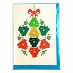 Factory Road Dink 45 Adapter Christmas Card (Bauble)