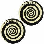 Slipmat Factory Technics Spiral Slipmats (pair, glow in the dark)