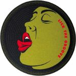 Slipmat Factory Lick The Groove Slipmats (pair, multicoloured)