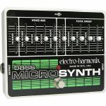 Electro Harmonix Bass Micro Synthesizer Analog Microsynth Pedal