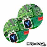 "Criminyl Circuitry 7"" Slipmats (pair)"