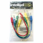 "Intellijel 3.5mm Jack Eurorack Modular Synth Patch Cables (pack of 5, 6""/15cm)"