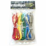 """Intellijel 3.5mm Jack Eurorack Modular Synth Patch Cables (pack of 5, 24""""/60cm)"""