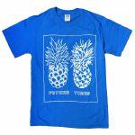 Future Times Pineapple Shirt (medium, blue)