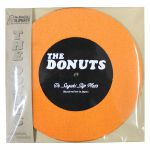 Dr Suzuki The Donuts 7 Inch Slipmats (pair, orange & black)