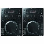 Pioneer CDJ350 Digital Multi CD USB Players (pair, black)