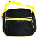 Soul Jazz 12 Inch Record Bag (black & yellow)
