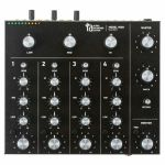 Alpha Recording System ARS Model 9000 Rotary Tabletop DJ Mixer (black)