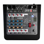 Allen & Heath ZEDi8 Compact Hybrid Mixer With USB Interface + Cubase LE Software