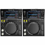 Pioneer XDJ700 Rekordbox Compatible Compact Digital Decks (pair)