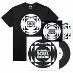 "101 Apparel Spiritual Soul Eclectic T-Shirt With 7"" & Mix CD (black, medium)"