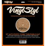 "Vinyl Styl 12"" Anti-Static Cork Turntable Mat"