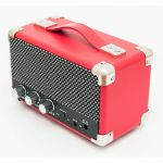 GPO Mini Westwood Rechargeable Battery Powered Bluetooth Speaker (red)