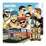 Serato 12 Inch Crew Love: Based On A True Story Control Vinyl (3 x 12 inch, black/red vinyl)