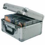 Citronic CDA40 Aluminium CD Flight Case (holds 40 CDs)