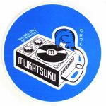 Mukatsuku Bold Blue Slipmat (single, blue/white/black)  (Juno exclusive)