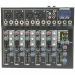Citronic CM6 Live Compact Mixer With Delay & USB SD Player