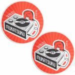 Mukatsuku Records Are Our Friends Red Rays Slipmats (pair, red rays) *Juno Exclusive*