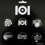 101 Apparel Button Pin Badge Pack #2
