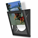 Show & Listen Vinyl Record Display Frame (black)