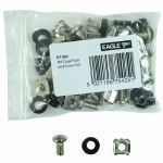 Eagle M6 Studio Rack Cage Nuts Bolts & Washers Set (pack of 20)