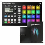 Native Instruments Maschine Mikro MkII Groove Production Studio (black) With Massive & Komplete Elements Software + Komplete 11 Upgrade Software (upgrade from Komplete 11 Select)
