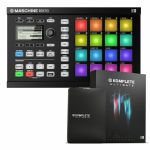 Native Instruments Maschine Mikro MkII Groove Production Studio (black) With Massive & Komplete Elements Software + Komplete 11 Ultimate Upgrade Software (upgrade from Komplete 11 Select)