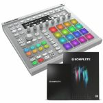 Native Instruments Maschine MkII Groove Production Studio (white) With Massive & Komplete Elements Software Bundle + Komplete 11 Upgrade Software (upgrade from Komplete 11 Select)