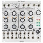Toppobrillo Stereomix Voltage Controlled Stereo Mixer Module (Rev 1.1)