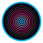 Glowtronics Circles Classic Non Glow Slipmats (pair)