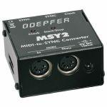 Doepfer MSY2 MIDI To SYNC Clock Converter Interface (black)