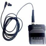 Tascam DR 10L Ultra Compact Recorder With Lavalier Microphone