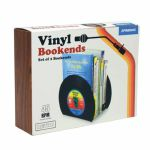 Gift Republic Retro Vinyl Bookends