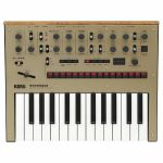 Korg Monologue Monophonic Analogue Synthesizer (gold)