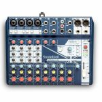 Soundcraft Notepad 12FX Small Format Analog Mixing Console With USB I/O & Lexicon Effects