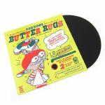 "DJ Q Bert Thud Rumble 12"" Butter Rugs v3 Slipmats (black, pair)"