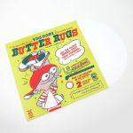"""DJ Q Bert Thud Rumble 12"""" Butter Rugs v3 Slipmats (white, pair)"""