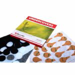 Rycote Undercovers Lavalier Wind Covers & Stickies (white, 30 pieces)
