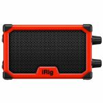 IK Multimedia iRig Nano Amp Battery Powered Micro Amp & Interface For Mobile Devices (red)