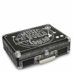 Crosley CR8005A Chalkboard Cruiser Turntable With Chalk & Eraser (black & white)