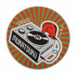 Mukatsuku Records Are Our Friends Red & Green Rays 12'' Slipmat (single, red & green rays) *Juno Exclusive*