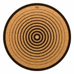 Glowtronics Circles Cork 12 Inch Slipmat (single)