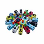 Mooer Footswitch Topper (mixed colours, pack of 10)
