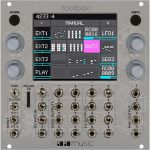 1010 Music Toolbox Touch Screen Polyphonic Sequencer & Function Generator Eurorack Module