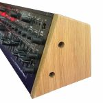 Synths & Wood Solid Oak End Cheeks Stand For Roland System 1M Synthesiser