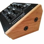 Synths & Wood Solid Oak End Cheeks Stand For Moog Werkstatt 01